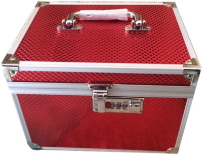 Ermani Export Red Jewellery Vanity Box Makeup Vanity Box