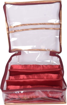 Styler Transparent Soft Bangle Pouch 3 Rod Fashion Vanity Box