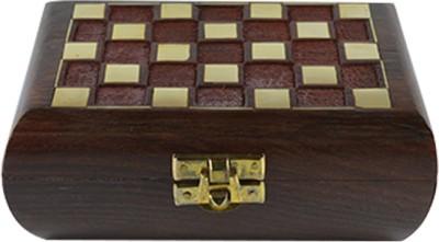 Craftuno Handcrafted Wooden Jewellery Box Multipurpose Decorative Vanity Box