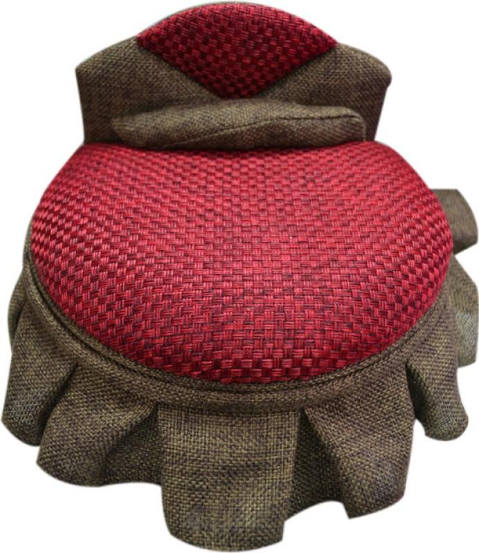 Jaycoknit El circulo Multipurpose Vanity Box(Red)