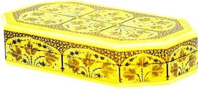 Chinar Paper Crafts FLAT BOX OCTANGLE- 7*4 Jewellery, Make Up Vanity Box