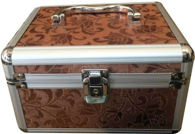 Platinum Cosmetic 2 compartment case Makeup, Jewellery Vanity Box