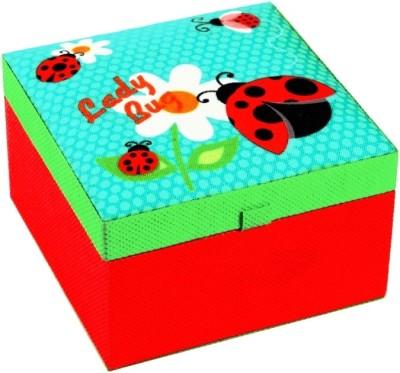 Treasure Hunt Lady Bug 1C - Small Keeping Kids Stuff Vanity Box(Multicolor)