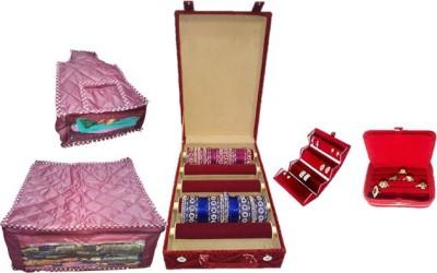 Lnc 5465 Bangle Carry Vanity Box