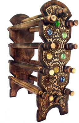 Woodino Antique Bangle Stand Vanity Box