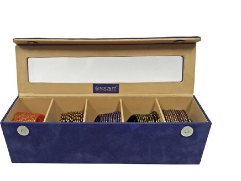 Essart Box 03 Makeup and Jewellery Vanity Box(Blue)