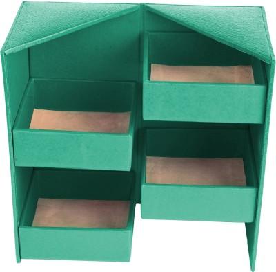 Ecoleatherette Almirah Jewellery Vanity Box