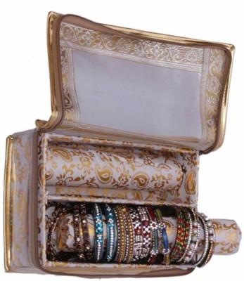 Kuber Industries Bangle Two roll Jewellery Vanity Box
