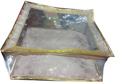 Nidhi golden saree cover makeup Vanity Box