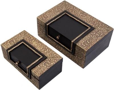 JaipurCrafts Royal Rajasthan Antique Dual Tone Makeup Vanity Box