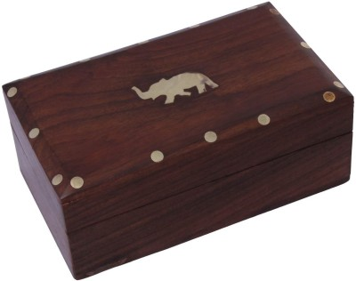 Craft Art India Outstanding Carving Work with Locking System Jewellery Vanity Box