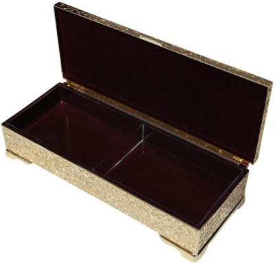 Treta 2 x 1 Golden Dry fruit Jewelry Vanity Box