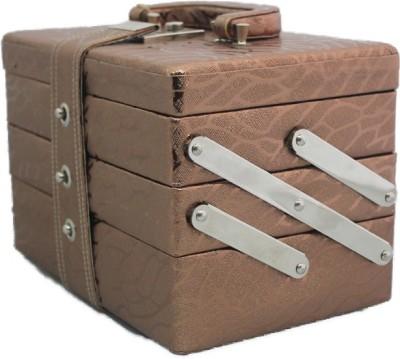 Tarana Leather Arts A01 Makeup Vanity Box