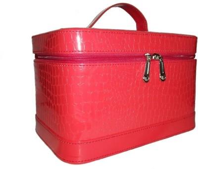 Rambler Croco Makeup Vanity Box(Red)