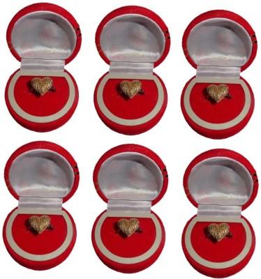 Atorakushon Pack of 6 Jewellery Ear Ring Box Vanity Box