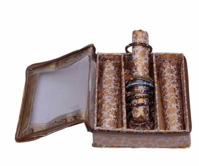 Kuber Industries Bangle Three Roll Box Jewellery Vanity Box