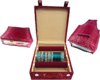 Lnc s+b+3rl Bangle Carry Vanity Box