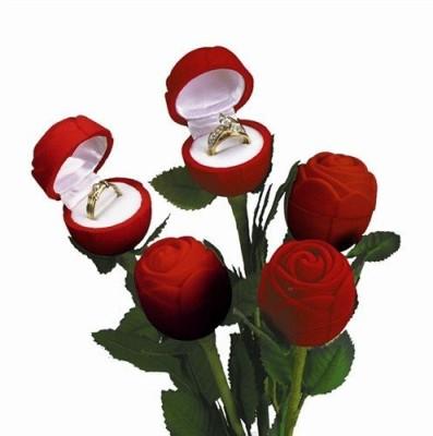 V-Love Rose Ring Jewellery Vanity Box