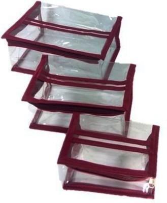 Atorakushon Jewellery Organizer Toiletry Folder Pouch Box Set of 3 Vanity Vanity Box