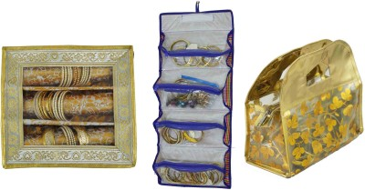 Bahurani Boutique Combo of Pouch Vanity Box