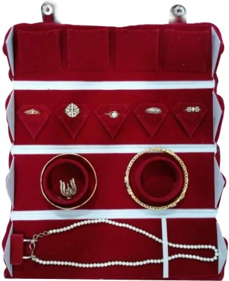 HanuEnterprises Locker Jewellery Kit Makeup Vanity Box
