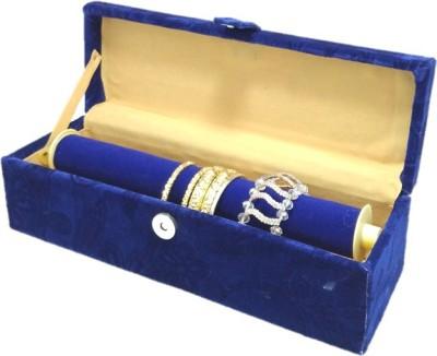 Lnc blue 1 rod bangle storage box Bangle Storage Vanity Box