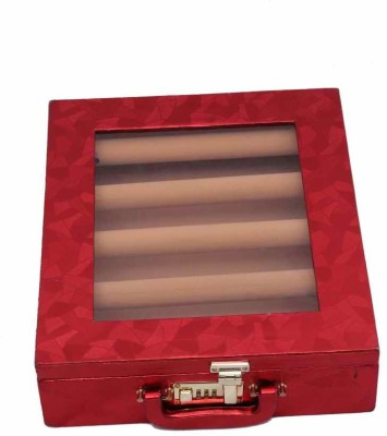 Kuber Industries Bangle Five Roll Jewellery Vanity Box