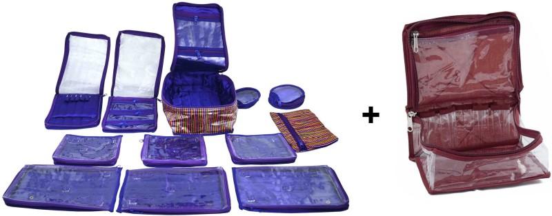 Bahurani Boutique Combo of Small Make-up Box Vanity Box(Multi Color)