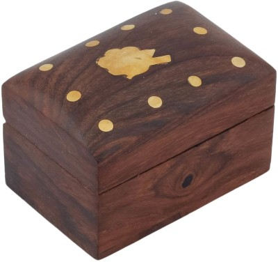 Crafts,man Handcrafted Wooden Decorative Jewellery Vanity Box