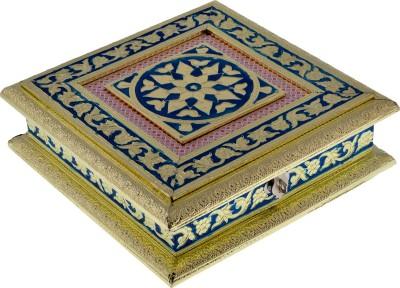 Sita Minakari Craft Aluminium, Stainless Steel Gift Box
