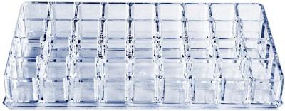Hommate Holder 36 pcs Lipstick Vanity Box(Transparent)