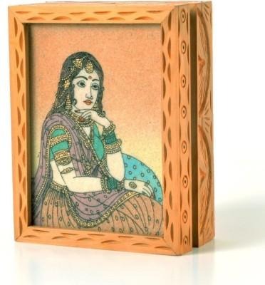 Shree Sai Handicraft in Gemstone Painting Box Gift Jewellery Vanity Box