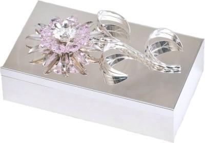 The Divine Luxury Box with Crystal Sunflower Jewelry Vanity Box