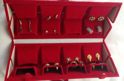 Aglare A5469090_big_red Jewellery Organizer Vanity Box
