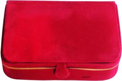 Abhinidi Set of 6 velvet ring storage travelling folder case Box Vanity Box