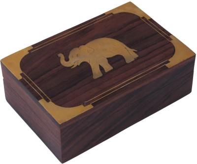 Craft Art India Beautiful With Outstanding Carving Work With Locking System Jewellery Vanity Box