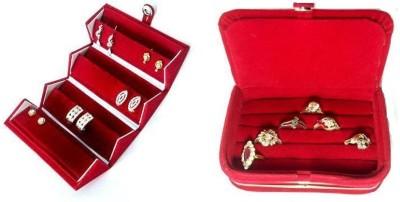 Atorakushon Combo Of 2 Jewelry Storage Vanity Box