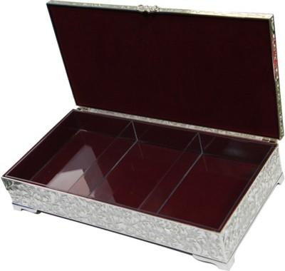 Treta Rectangular Box Makeup and Jewellery Vanity Box