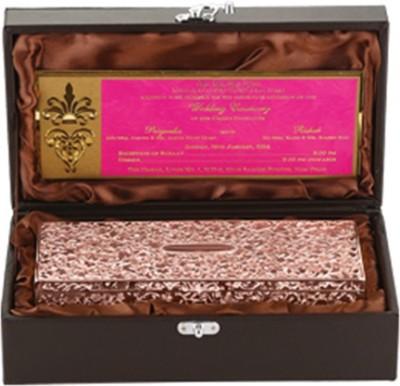 Treta 2 in 1 Treasure Rose Gold Color Makeup and Jewelry Vanity Box
