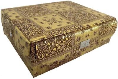 Ermani Export Traditional Soft Satin Bag - 3 Rows Bangle Care Vanity Box