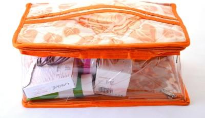 K&P Large Designer Semi-transparent Makeup Makeup Vanity Box