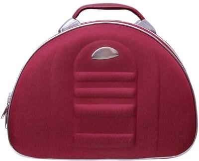 Ermani Export Maroon Utility Bagwith Pockets Makeup Vanity Box