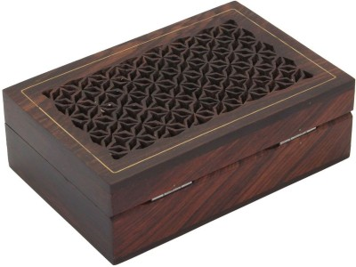 Craft Art India Beautiful Carved Wooden Jewellery Box Makeup And Jewellery Etc Vanity Box