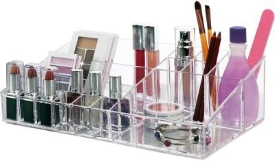 Lifestyle-You Luxury Acrylic Makeup & Cosmetic Organiser Tray Makeup & Jewellery Vanity Box