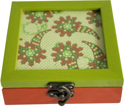Bodhitree Btcb22 Green Multi Storage Box Vanity Box