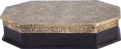 Craftkriti Brass jewellery box Ornaments Vanity Box