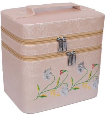 Styler Embroidery Design Makeup Vanity Box