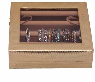 Kuber Industries Bangle Four Roll Jewellery Vanity Box