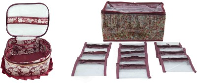 Bahurani Boutique Combo of Jewellery Vanity Box