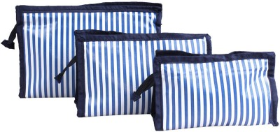 PRETTY KRAFTS Hand bag 3 pcs Blue Color Makeup cum Vanity Box